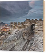 Ovech Fortress Wood Print