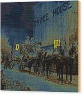 Overland Stage Raiders Homage 1938 Stagecoach 1894 Photo Wood Print