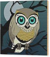 Owl 3 Wood Print