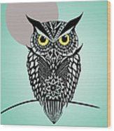 Owl 5 Wood Print