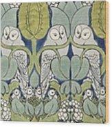 Owls, 1913 Wood Print