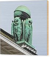 Owls Symbol Of Wisdom Wood Print