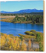 Oxbow Bend, Grand Teton National Park Wood Print