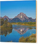 Oxbow Bend II Wood Print