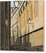 Oxford Alleys Wood Print