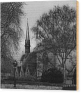 Oxford England Wood Print