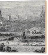 Oxford, From Headington Hill Wood Print