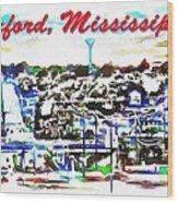 Oxford Mississippi 38655 Wood Print