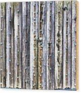 Oxidized Emerald Patina Wood Print