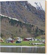 Oye Norway Wood Print