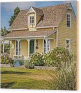 Oysterville Home 9 Wood Print