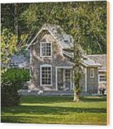 Oysterville House 7 Wood Print