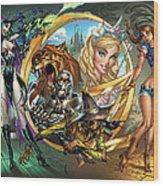 Oz 01a Wood Print by Zenescope Entertainment