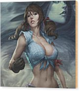 Oz 01b Wood Print by Zenescope Entertainment