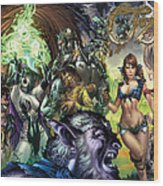 Oz 01k Wood Print by Zenescope Entertainment