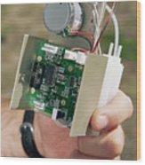 Ozone Sensor Wood Print