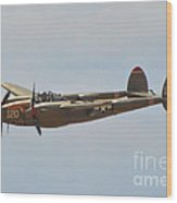 P-38l Lighting - Thoughts Of Midnight Wood Print