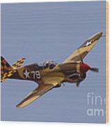 P-40 Wood Print