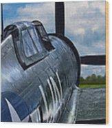 P-47 Thunderbolt Wood Print