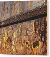 P R R - 9269 Wood Print