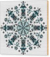 P2 Mandala Wood Print