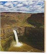 Pa Louse Falls Wood Print