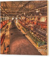 Pa Railroad Museum - 1652 Wood Print