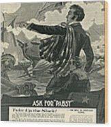 Pabst Wood Print