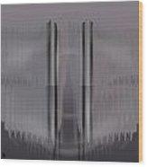 Pacan - Grey Wood Print