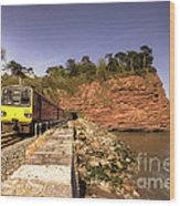Pacer At Parson's Tunnel Wood Print