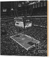 Pacers Indiana Wood Print