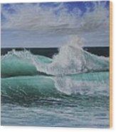 Pacific Breeze Wood Print