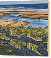 Pacific Coast - 4 Wood Print
