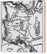 Pacific Grove And Vicinity  Monterey Peninsula California  Circa 1880 Wood Print