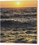 Pacific Reflection Wood Print