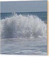 Pacific Wave II Wood Print