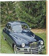 Packard 1 Wood Print