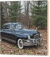 Packard 3 Wood Print