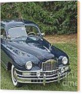 Packard 4 Wood Print