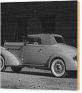 Packard Eight Wood Print