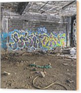 Packard Plant Detroit Michigan - 8 Wood Print