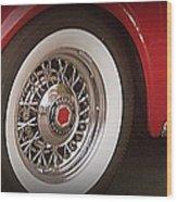 Packard Wheel Wood Print