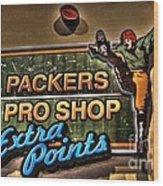Packer Pro Shop Wood Print