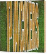 Packers Wood Print