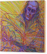 Paco De Lucia And Guardian Angel Wood Print