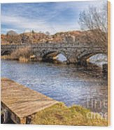 Padarn Bridge Wood Print