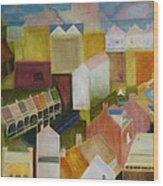 Paddington Landscape Wood Print