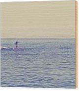 Paddle Surf 2 Wood Print