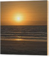 Padre Sunrise Wood Print