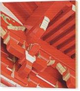 Pagoda 1225 Wood Print